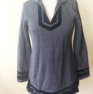 Soft Surroundings Tunic Runway Pullover Small